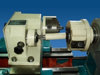 Polygon Turning Attachment Fixed On Lathe Machine